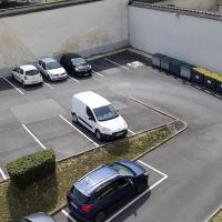 Parking de la résidence