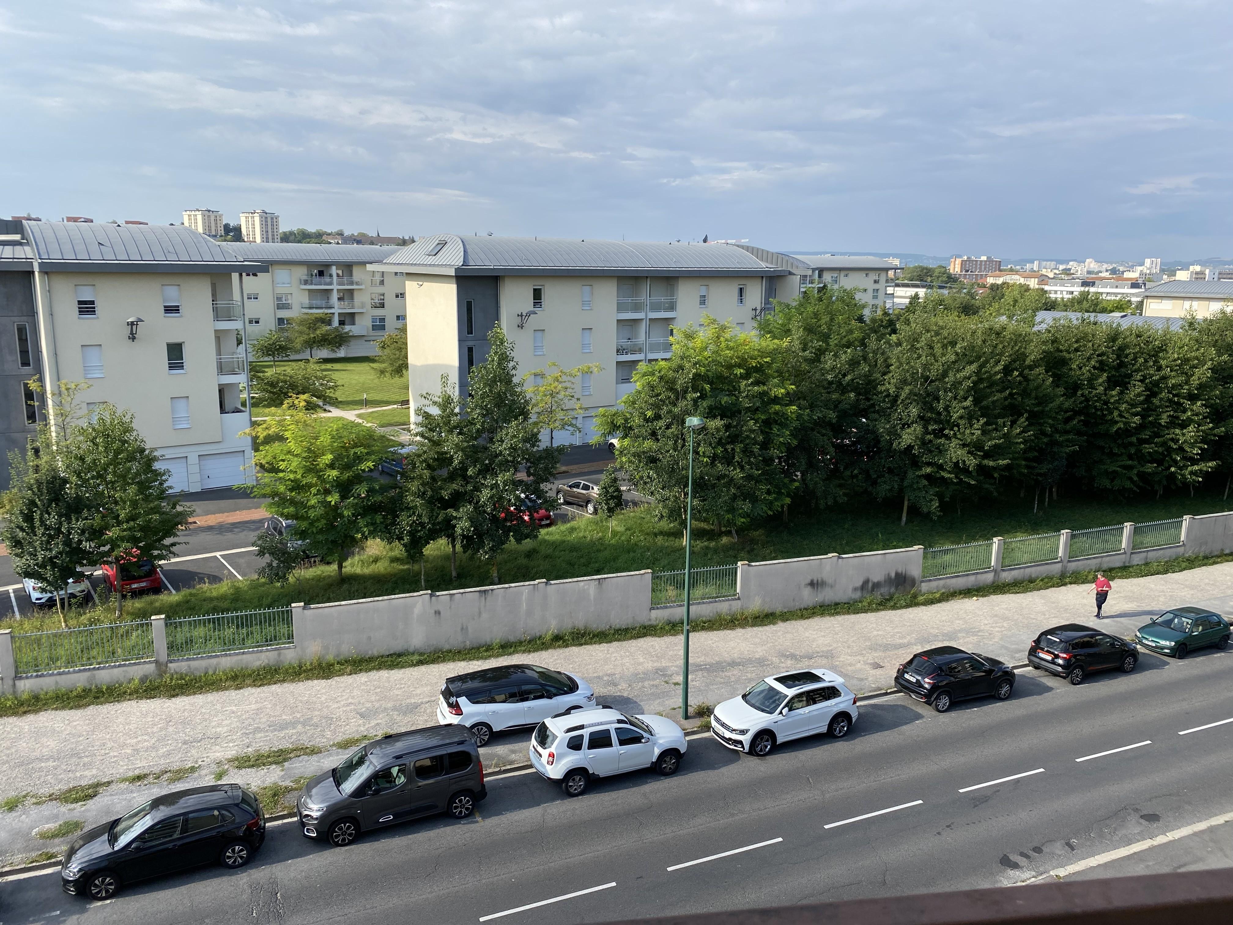 Vue du balcon de la pièce principale